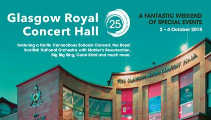 Glasgow Royal Concert Hall celebrates 25 years